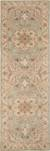 Classic oriental grey/ivory wool area rug, 'Province' - Classic Oriental Grey/Ivory Wool Area Rug (image 2f) thumbail