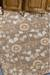 Classic arts and crafts taupe/blue wool area rug, 'Bowan' - Classic Arts And Crafts Taupe/Blue Wool Area Rug (image 2d) thumbail