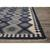 Flat-weave tribal blue/gray wool area rug, 'Admiral' - Flat-Weave Tribal Blue/Gray Wool Area Rug (image 2b) thumbail