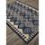 Flat-weave tribal blue/gray wool area rug, 'Admiral' - Flat-Weave Tribal Blue/Gray Wool Area Rug (image 2c) thumbail