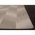 Flat-weave tribal gray/black wool area rug, 'Sand Zigzag' - Flat-Weave Tribal Gray/Black Wool Area Rug (image 2b) thumbail