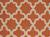 Flat-weave geometric orange/ivory wool area rug, 'Tangerine Shiloh' - Flat-Weave Geometric Orange/Ivory Wool Area Rug (image 2e) thumbail