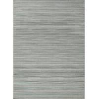 Flat-weave stripe blue/ivory wool area rug, 'Pond' - Flat-Weave Stripe Blue/Ivory Wool Area Rug