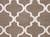 Modern geometric brown/ivory wool area rug, 'Vogue in Walnut' - Modern Geometric Brown/Ivory Wool Area Rug (image 2e) thumbail