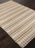 Jute and cotton area rug, 'Gale' - Hand Woven Jute and Recycled Cotton Taupe Grey Area Rug (image 2c) thumbail