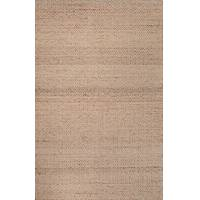 Wool and jute area rug, 'Everly' - Artisan Crafted Wool Jute Area Rug Tone-on-tone