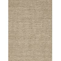 Natural colored solid ivory/white jute area rug, 'Brie' - Natural Colored Solid Ivory/White Jute Area Rug from India