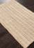 Jute area rug, 'Fraim' - 100% Jute Ivory/Sand Area Rug Handwoven in Multiple Sizes (image 2c) thumbail