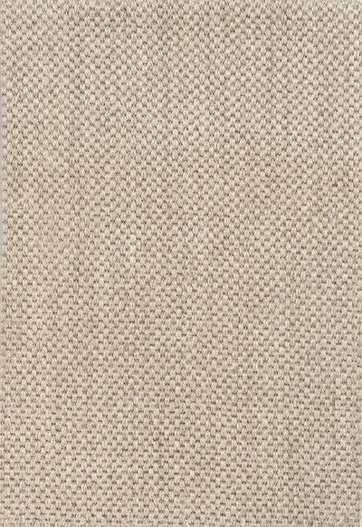 Natural Tone Solid Taupe Ivory Sisal Area Rug Nelly Novica