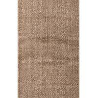 Jute area rug, 'Michaela' - 100% Jute Tan/Taupe Area Rug Handwoven in Multiple Sizes
