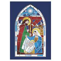 Nativity Window Christmas Cards - Unicef Charity Christmas Cards