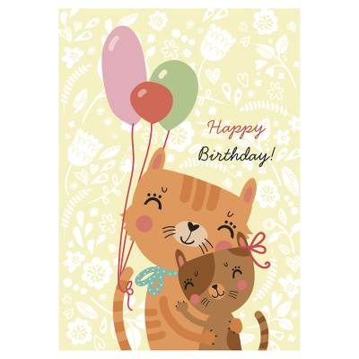 UNICEF birthday cards, 'Children's Birthdays' (set of 10) - Unicef Charity Greeting Cards