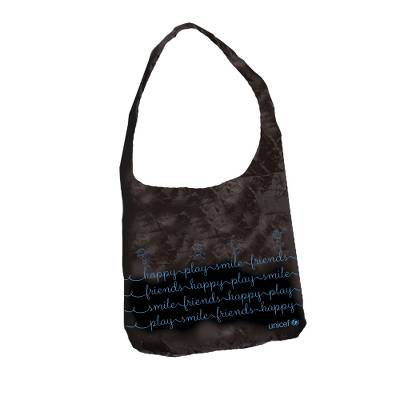 UNICEF Foldaway shopping bag - Lightweight, Water Resistant, Folds to Small Square.