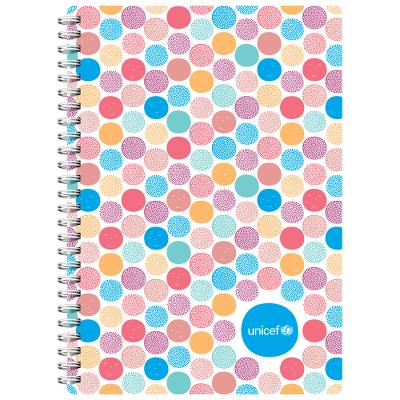 d9f9fde5d Unicef UK Market | Unicef School Essential Notebook - Follow the Dots  Notebook