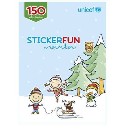Unicef Christmas Sticker Book - Unicef Children's Fund Stickerbook