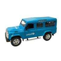 UNICEF Vintage Land Rover - Unicef Model Car
