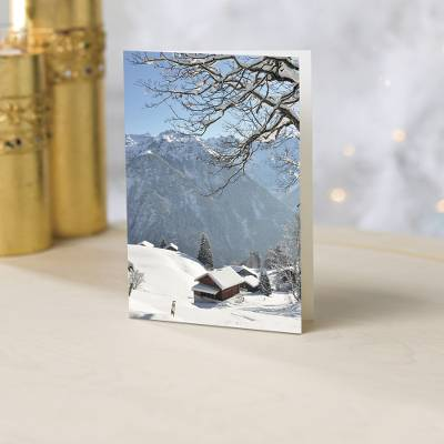 Mountain Snow Landscapes Christmas Cards - Unicef Charity Christmas Cards
