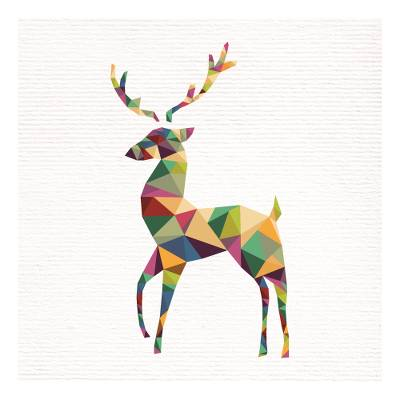 Prismatic Christmas Cards Set of 10, 'Prismatic Classics' - Unicef Charity Christmas Cards