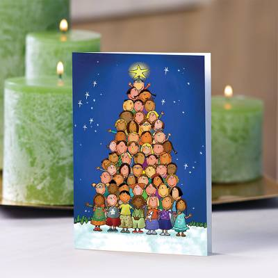 Children of the World Christmas Cards - Unicef Charity Christmas Cards