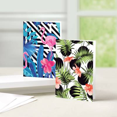 Tropical Break Greeting Cards - Unicef Charity Greeting Cards