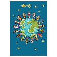 Unicef Tea Towel, 'Kids Around the World' - Unicef Tea Towel