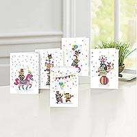 UNICEF Birthday cards, 'The Birthday Parade' (set of 10) - UNICEF Assorted Children's Birthday Cards (10)