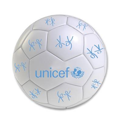 UNICEF Playball - UNICEF Mini Football White with Logo