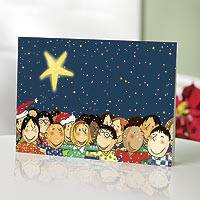 Unicef Charity Christmas Cards (Set of 10), 'Children United' - Unicef Charity Christmas Cards (Set of 10)