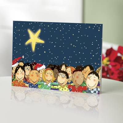 Unicef Christmas Cards.Unicef Charity Christmas Cards Set Of 10 Children United
