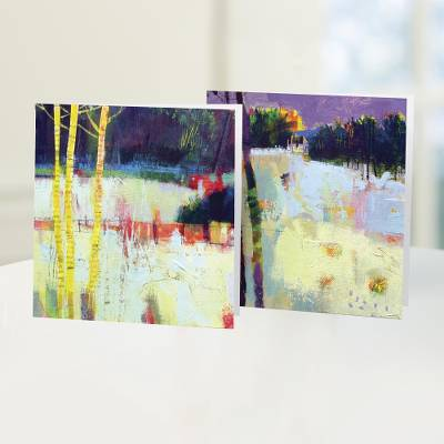 Unicef Charity Christmas Cards (Set of 10), 'Scottish Winter Landscapes' - Unicef Charity Christmas Cards (Set of 10)