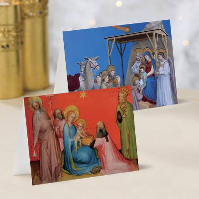 Unicef Charity Christmas Cards (Set of 10), 'Classic Nativity' - Unicef Charity Christmas Cards (Set of 10)