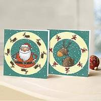Unicef Charity Christmas Cards (Set of 10), 'Festive Fun' - Unicef Charity Christmas Cards (Set of 10)