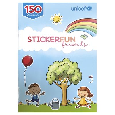 UNICEF Year-Round Sticker Book - UNICEF Year-Round Sticker Book