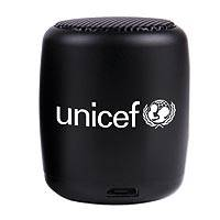 UNICEF Bluetooth Nano Speaker, Black - Wireless nano speaker