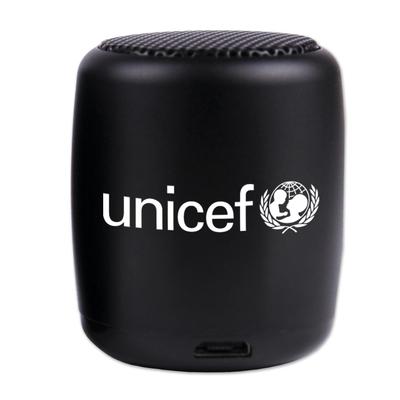UNICEF Bluetooth Nano Speaker, Black - Wireless nano speaker