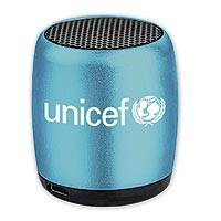UNICEF Bluetooth Nano Speaker, Blue - Blue wireless nano speaker