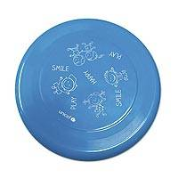 UNICEF flying disc, 'Smile Play Happy' - UNICEF Sports Flying Disc with Logo