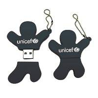UNICEF USB flash drive, 'Jump for Joy'