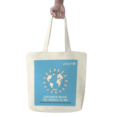 UNICEF Reusable Canvas Shopping Tote - UNICEF Reusable Canvas Shopping Tote