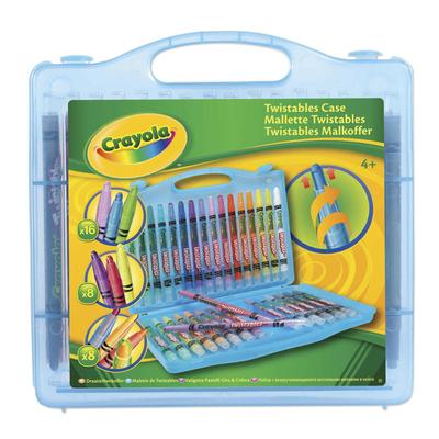 Crayola Twistables Case - Blue - Crayola Twistables Crayons Case - Blue