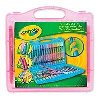 Crayola Twistables Case - Pink - Crayola Twistables Crayon set