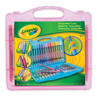 Crayola Twistables Case - Pink - Crayola Twistables Crayon set