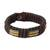 Men's wristband bracelet, 'Song of Africa' - Men's wristband bracelet (image 2a) thumbail