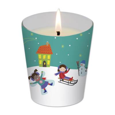 UNICEF holiday candle, 'Winter Daydreams' - UNICEF Holiday Candle