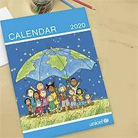 UNICEF 2020 UK wall calendar