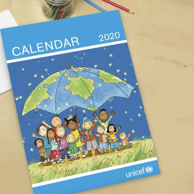 UNICEF 2020 UK wall calendar - UNICEF UK 2020 Wall Calendar