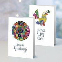 UNICEF holiday greeting cards, 'The Peace of the Season' (set of 10) - UNICEF The Peace of the Season Holiday Cards (Set of 10)