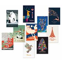 Unicef Christmas cards, 'Assortment Pack' (set of 10) - Unicef Christmas Card Assortment Pack (set of 10)