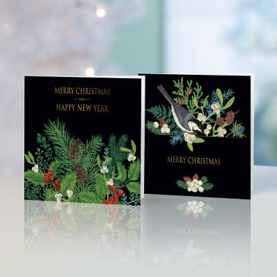 Unicef Christmas cards, 'The Magic of Mistletoe' (set of 10) - Unicef Christmas Cards The Magic of Mistletoe (Set of 10)