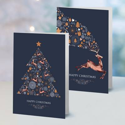 Unicef Christmas cards, 'A Season of Joy' (set of 10) - Unicef Christmas Cards A Season of Joy (Set of 10)